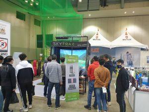 韓国各地のゴルフフェアでSkyTrakが大人気!